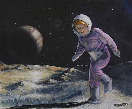 Anna on Europa by Simon Kregar