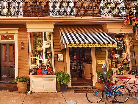 Annapolis Bookstore by Mick Burkey
