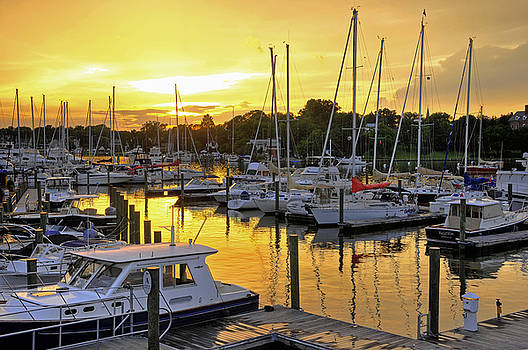 Annapolis Sunset by Dan Myers