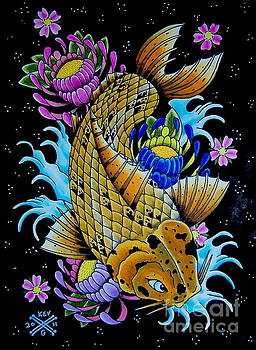 Another Koi Fish by Kev G