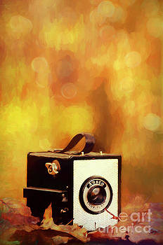 Ansco Vintage Box Camera by Darren Fisher