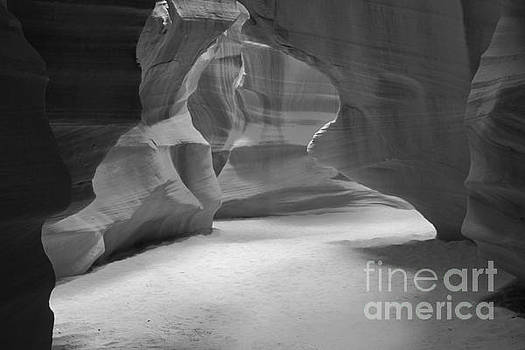 Adam Jewell - Antelope Slot Canyon Black And White