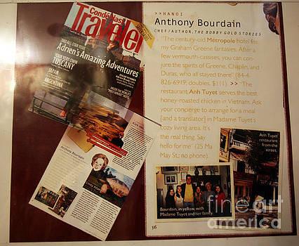 Chuck Kuhn - Anthony Bourdain was here too.