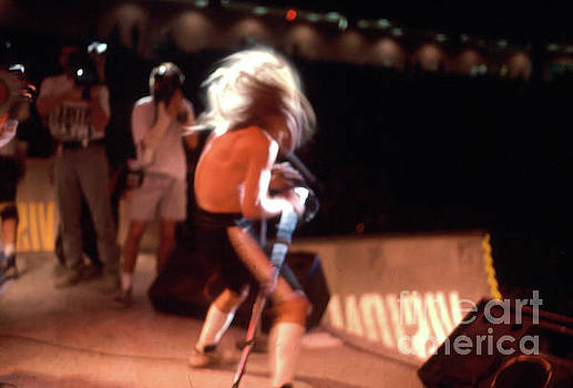 Anthony Kiedis of  the Red Hot Chili Peppers from 1988 Skate Escape by Gregory Dyer