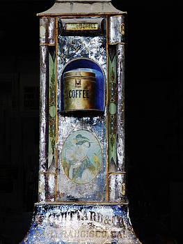Antique Coffee Machine by Alan Socolik