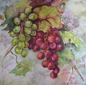 Antique Grapes by Karla Horst