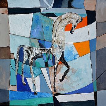 Antique Horse  by Pol Ledent