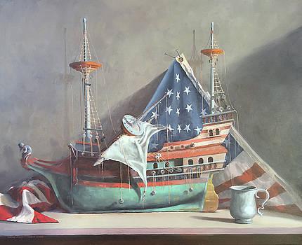 Antique Ship by Rich Alexander