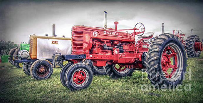 Antique Tractor Pullers by Marion Johnson
