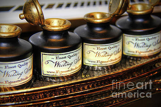 Antique Writing Ink by Mariola Bitner