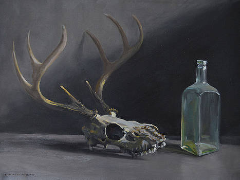 Antlers and Glass by Rich Alexander