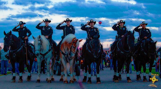 APD Horse Unit by Tony Lopez