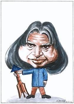 APJ Kalam by Venkat Meruvu