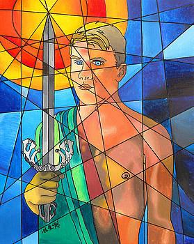 Apollo by Tim Lin apprentice to E Gibbons