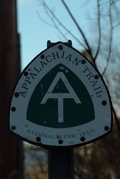 Appalachian Trail sign by Alberta Brown Buller