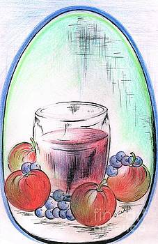 Apple and Blueberry Drink by Teresa White