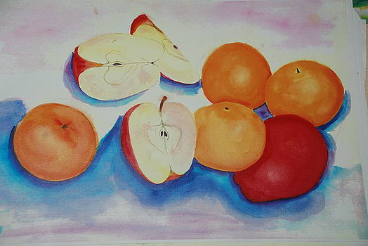Apple and Oranges by Aldonia Bailey