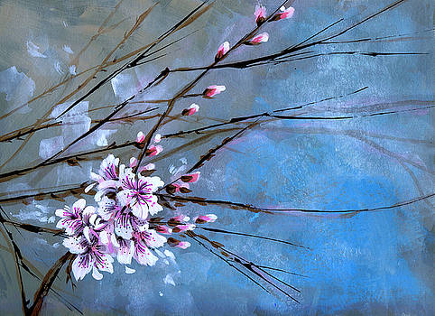 Apple Blossoms by Denise Armstrong