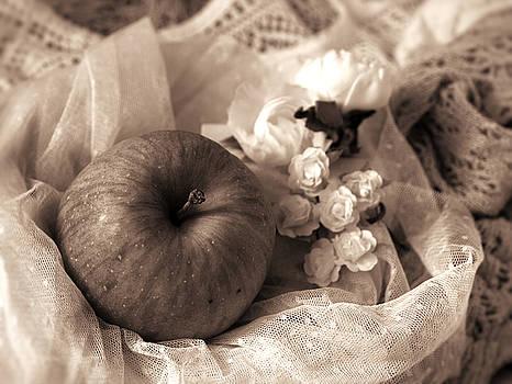 Apple in Sepia by Rachel Mirror