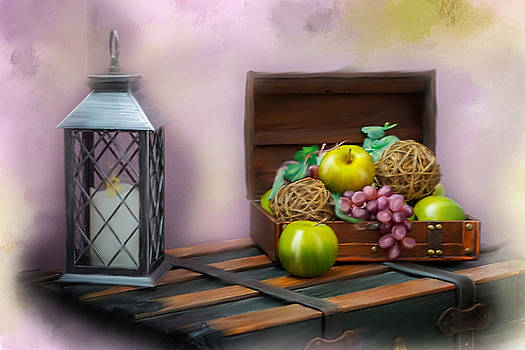 Apples and Grapes by Mary Timman