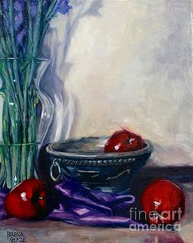 Apples and Silk by Rebecca Glaze