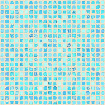 Aqua Ocean Tiles by Joy McKenzie