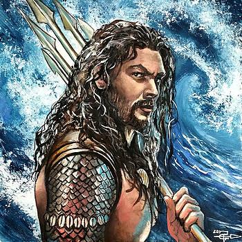 Aquaman by Tom Carlton