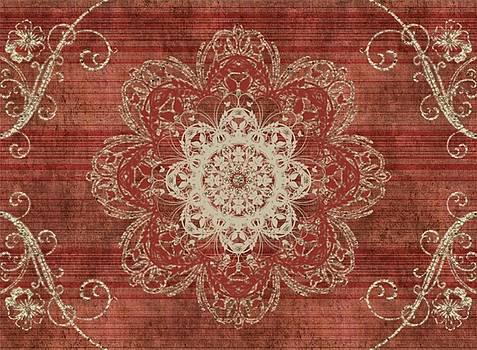 Arabesque Red by Jannina Ortiz