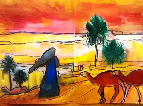 Arabian Desert Landscape  by Patricia Taylor