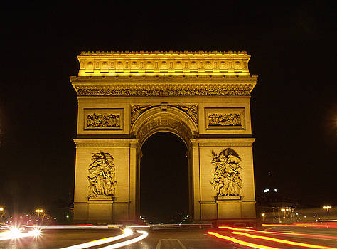 Arc de Triomphe by Mark Currier