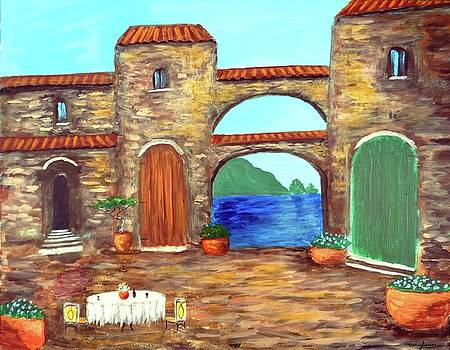 Arches Of Amalfi  by Larry Cirigliano