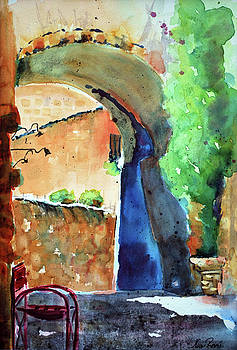 Arches of Orvieto by Neva Rossi