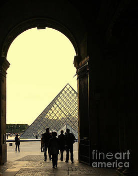Chuck Kuhn - Arches to Louvre
