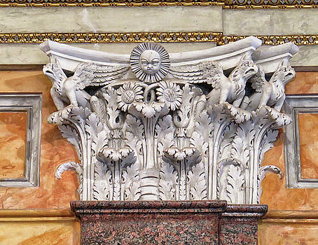Architectural Art at the Borghese Gallery by Dave Mills