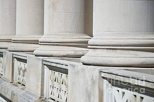 Architectural Columns on a Federal Courthouse  by ELITE IMAGE photography By Chad McDermott
