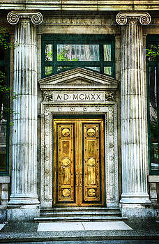 Architecture - Ionic Columns by Theresa Tahara