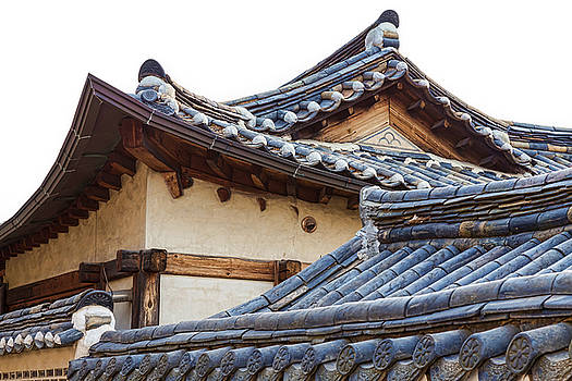 Architecture Of Bukchon Hanok Village  by James BO Insogna