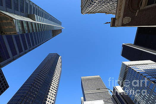 Chuck Kuhn - Architecture Tall Color Buildings