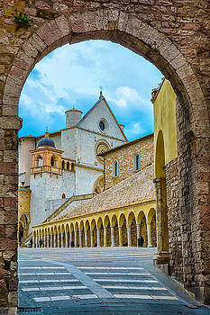 Archway to Assisi by Maggie Magee Molino