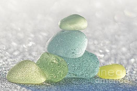 Arctic Spring Sea Glass by Barbara McMahon