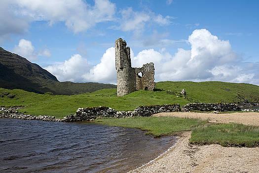 Ardvreck Castle by Sue Arber