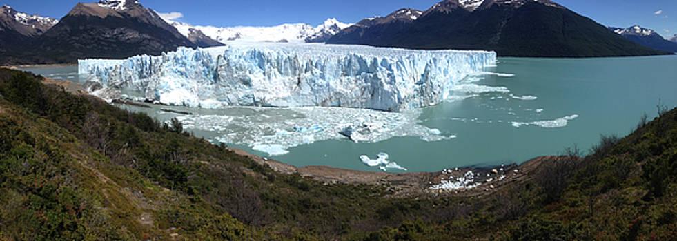 Argentinian Glacier by Richard Gehlbach