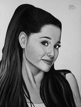 Ariana Grande by Vishvesh Tadsare