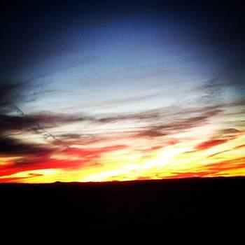 Arizona Sunset by Paula Manning-Lewis