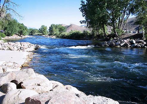 Arkansas River by CGHepburn Scenic Photos