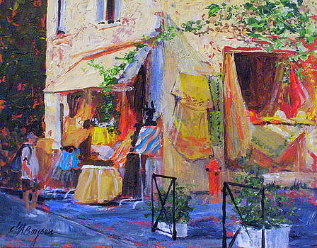 Arles Fabric Shop by Maryann Boysen