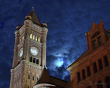 Around the Clock Tower by Gregory Israelson
