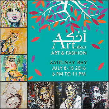 Art and Fashion Exhibit, July 2016 by Christel Roelandt