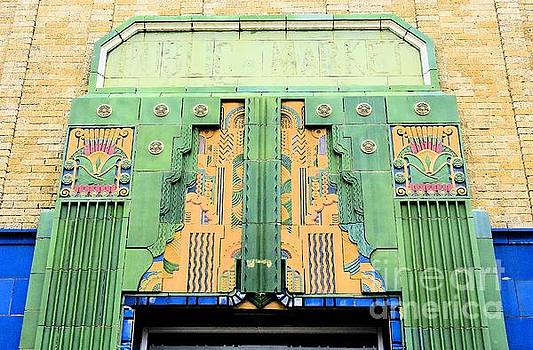 Art Deco Facade at Old Public Market by Janette Boyd