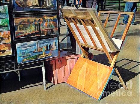 Art for Sale - Summer in the Park by Miriam Danar